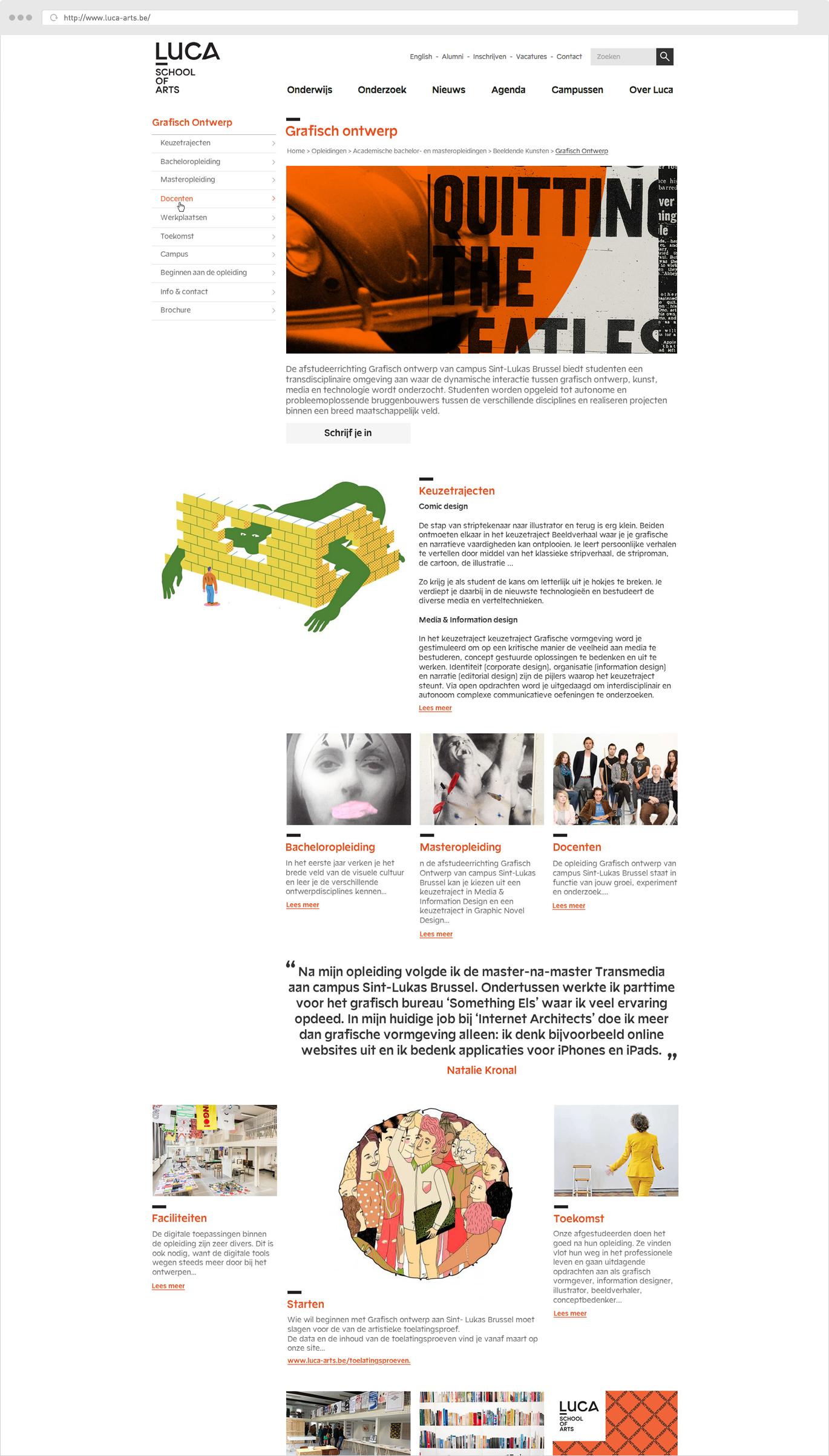 Luca School Of Arts Grafisch Ontwerp
