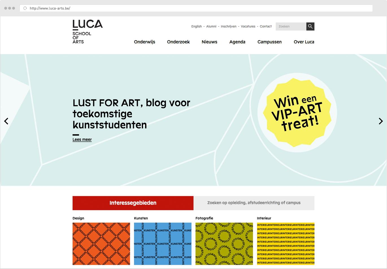 Luca School Of Arts Homepagina