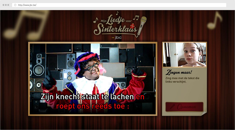 JBC Mijn liedje voor Sinterklaas - Karaoke
